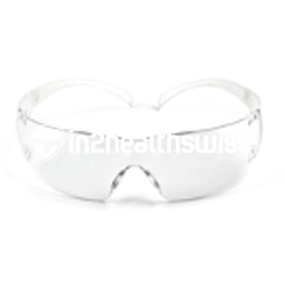 Protection glasses and face protection